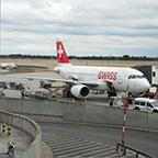 スイス航空機