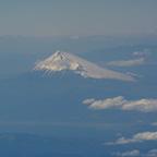 白い富士山