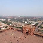 尖塔からの眺め